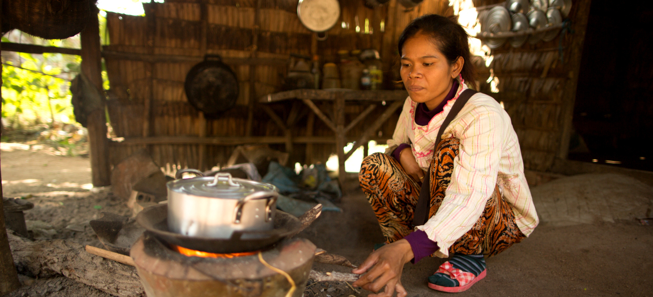 Promoting sustainable cooking stoves in Cambodia