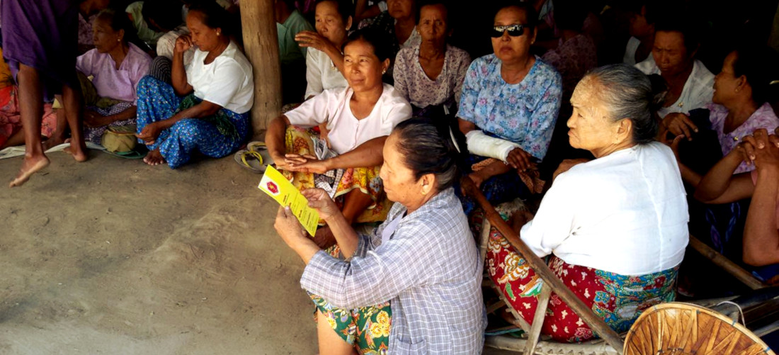 Women committed to sustainable energy in Myanmar