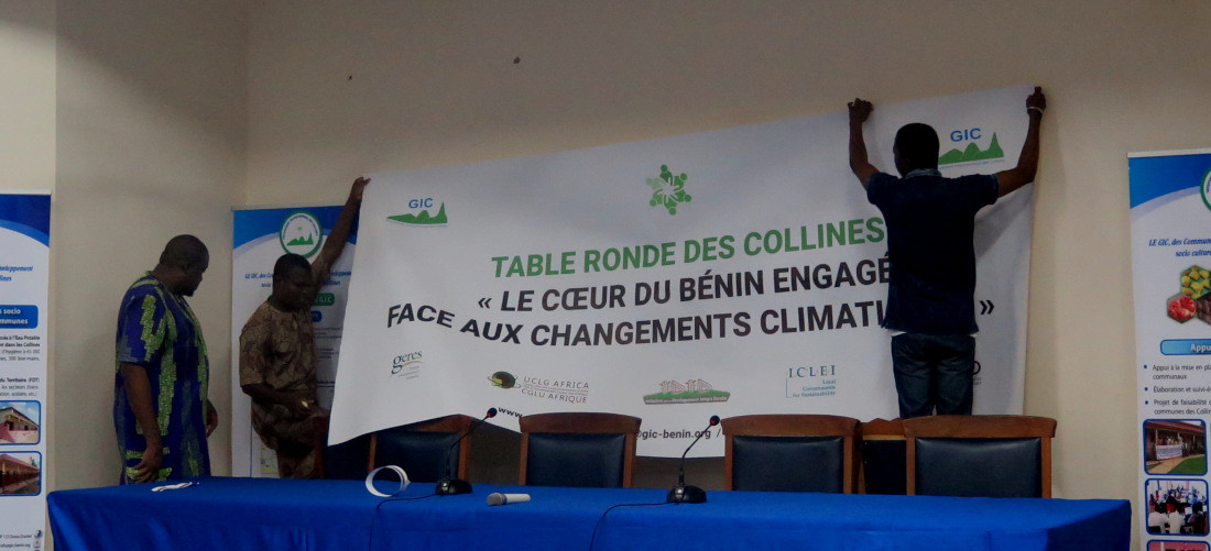 Collines département, the heart of Benin committed to climate action