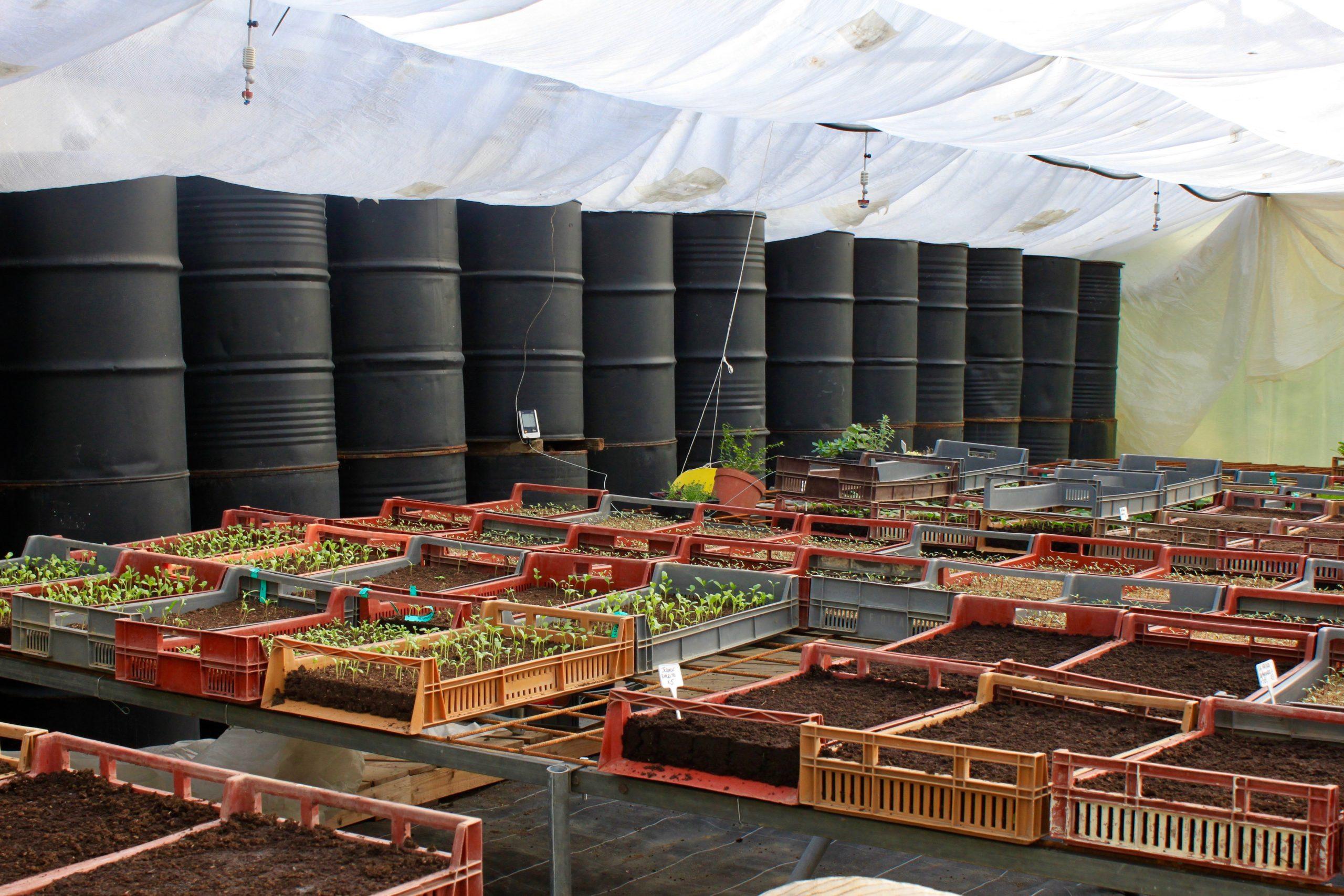 Serre bioclimatique en PACA