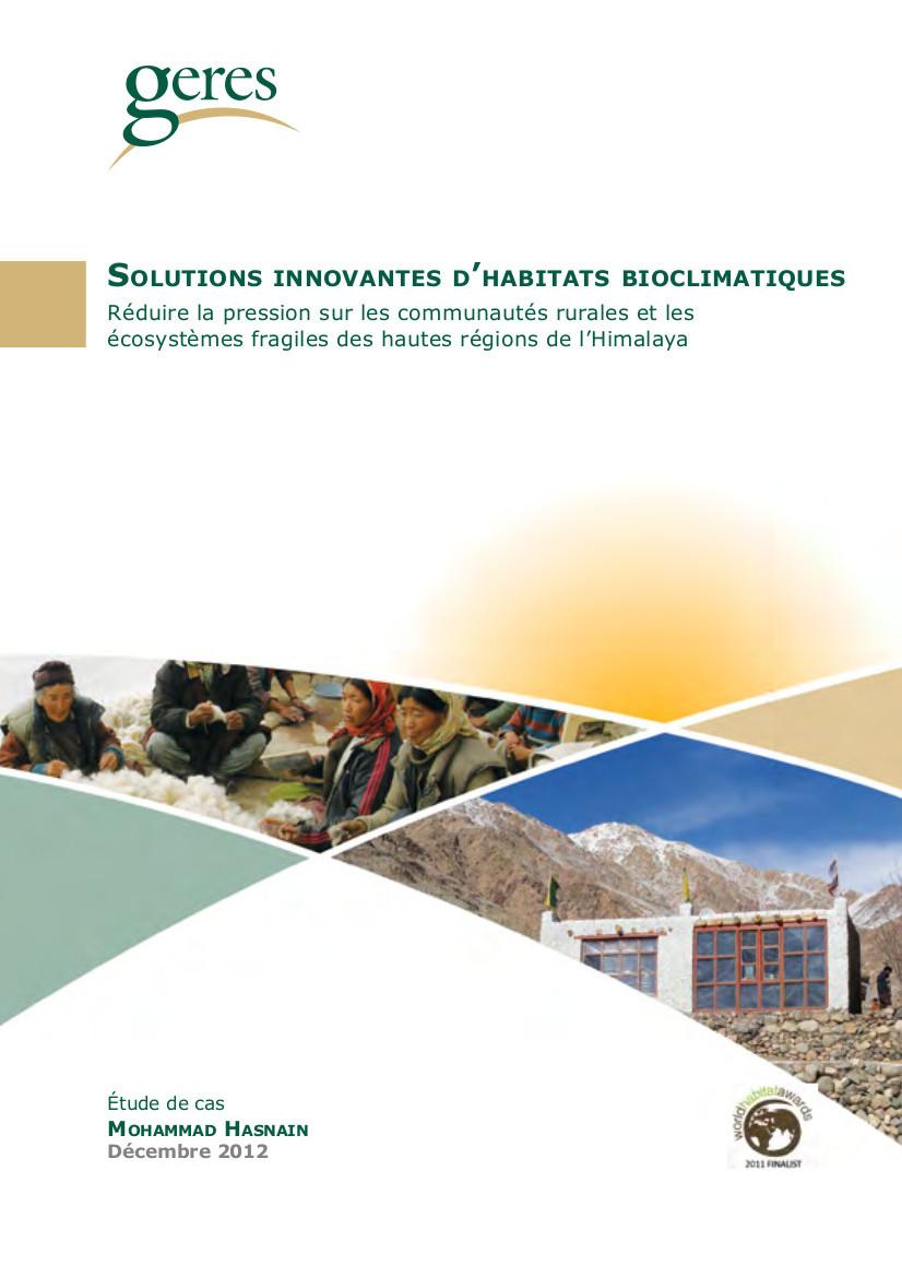 solutions innovantes d'habitat bicolimatique