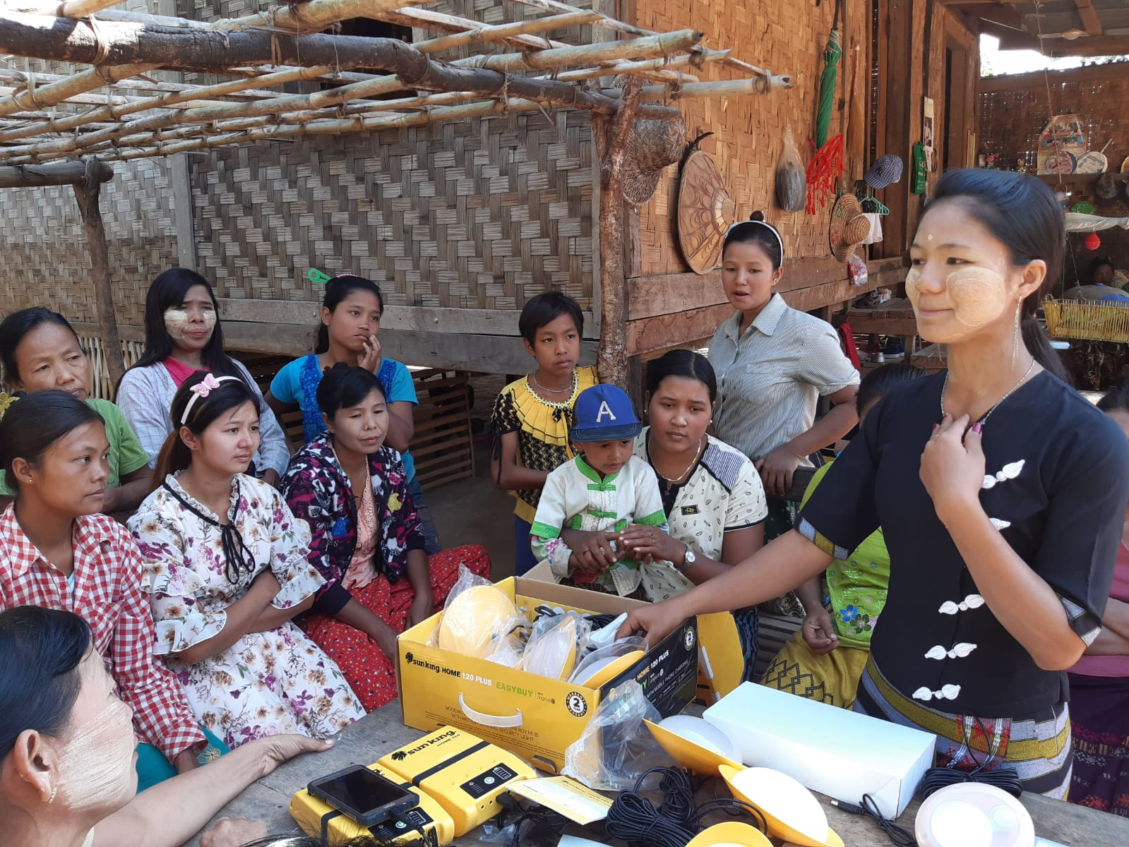 Myanmar strategic workshop Myanmar solar entrepreneurship kit women's entrepreneurship