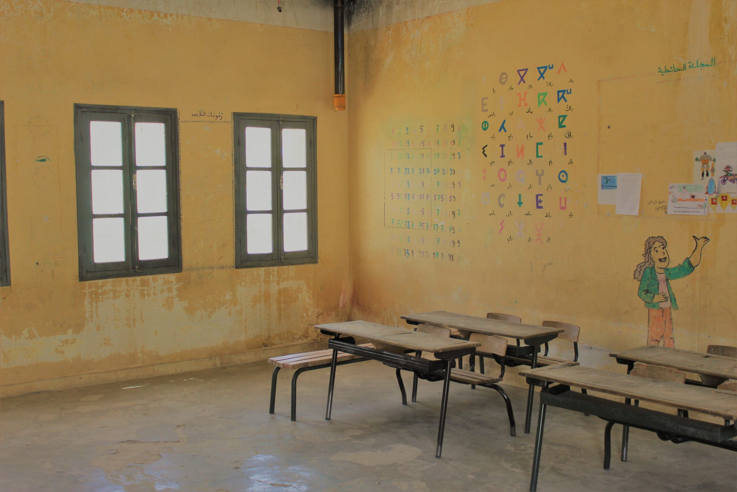 Classroom visit to the province of Midelt in Morocco