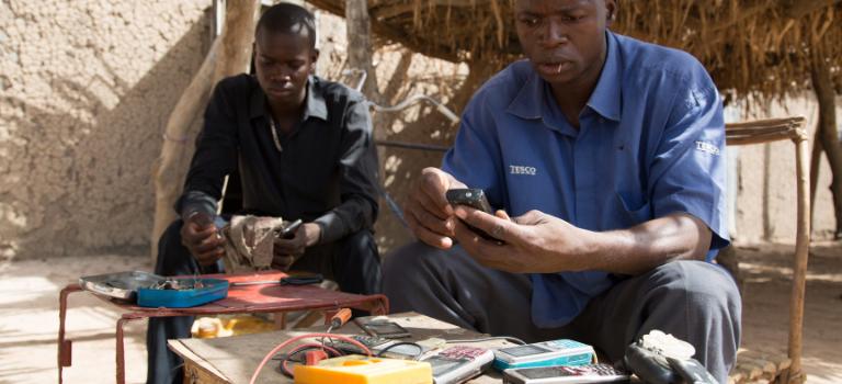 Kits solaires individuels pour le Sahel