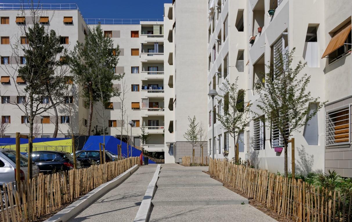 Réhabilitation énergétique - Quartier Jas de Bouffan - Aix (2)
