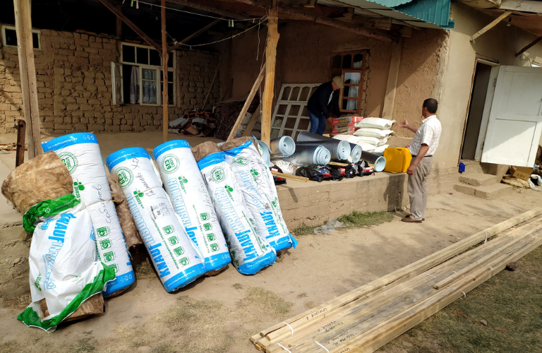 Energy retrofitting vulnerable households Tajikistan covid19