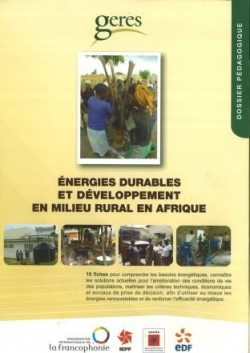 Renewable energy and development in rural Africa
