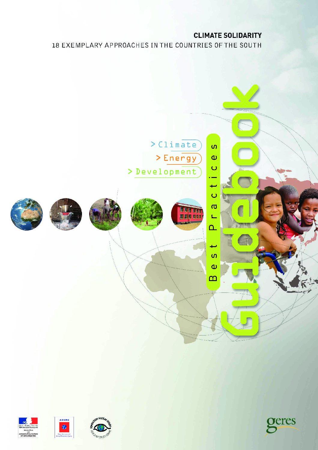 Best practices Guidebook « Climate, Energy, Development »