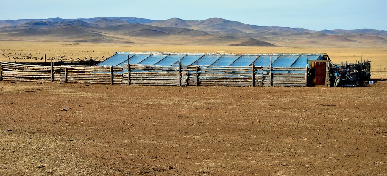 Diffusion de serres solaires passives pour le maraîchage en Mongolie