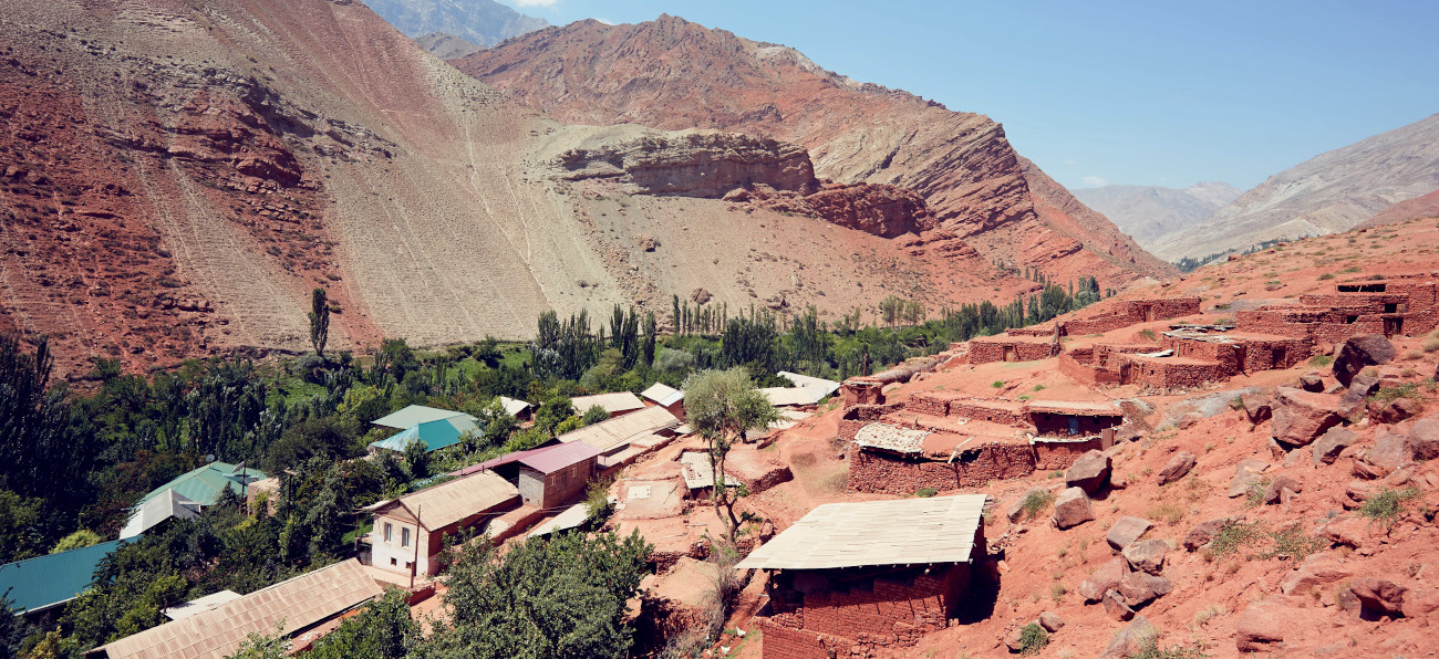 Adaptation to climate change in Tajikistan