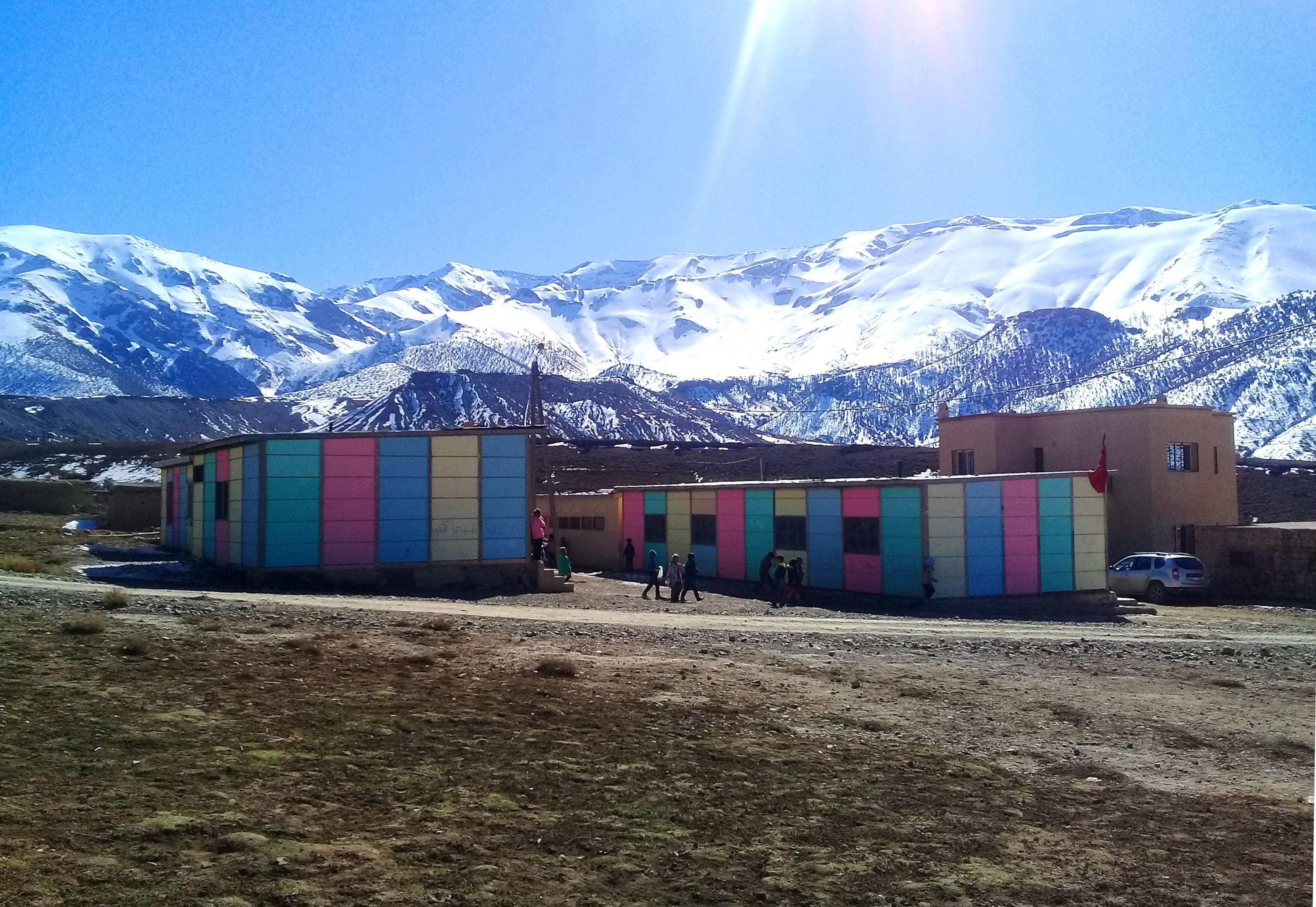 Improving the energy efficiency of school buildings in Midelt Province