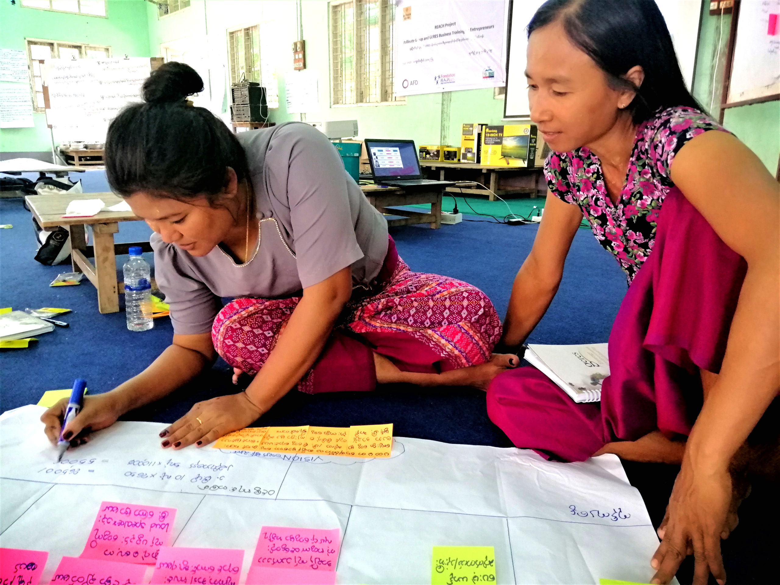 Women's entrepreneurship, a source of energy in rural Myanmar