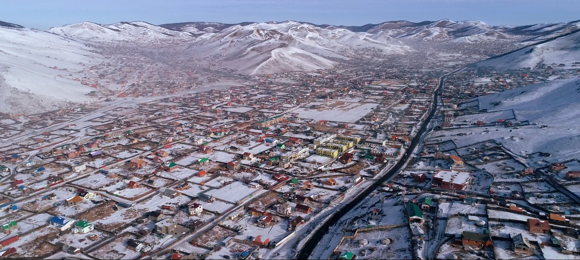 Earth construction techniques are being revived in the housing sector in Ulaanbaatar