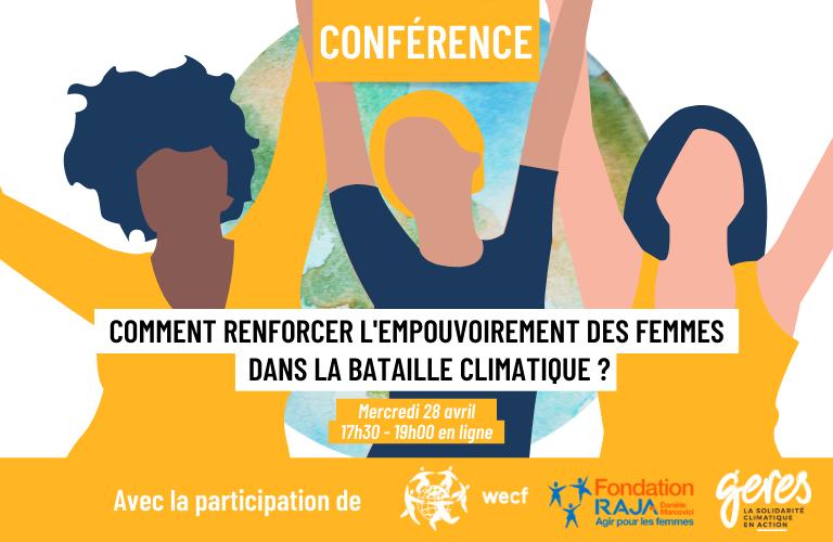 Conférence femme climat empouvoirement