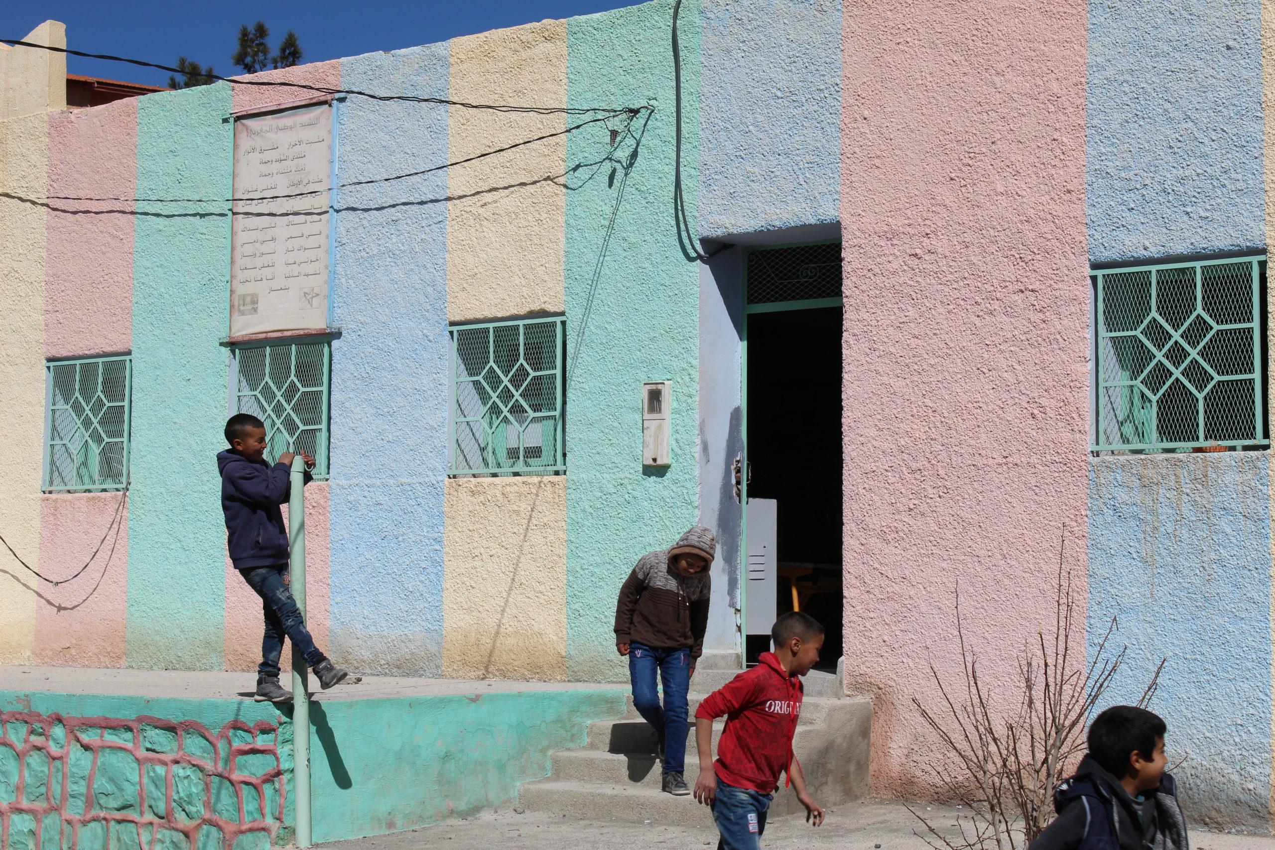 Construction et rénovation énergétique école Outerbat Maroc