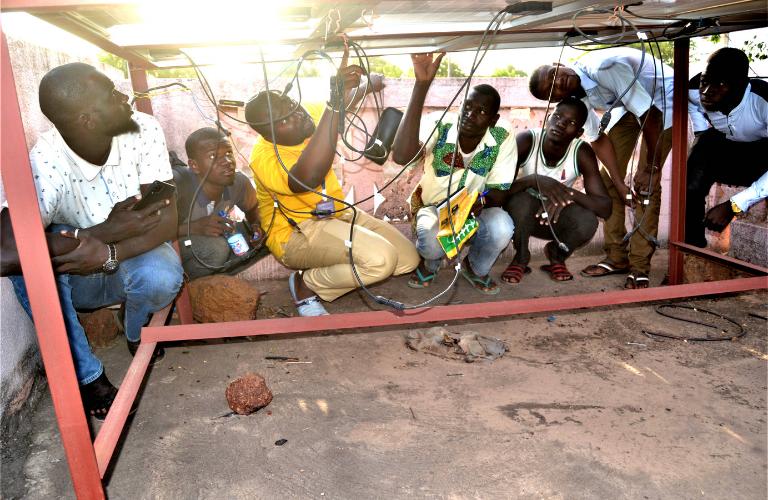 Formation photovoltaique jeunes mali Koutiala