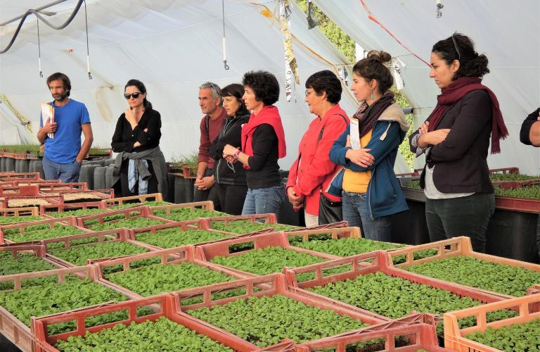 Agricuteurs et serres bioclimatiques région paca sud