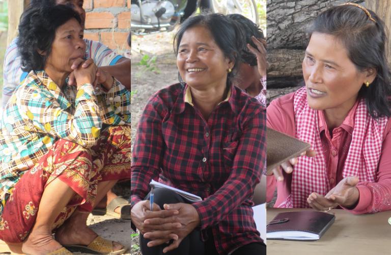 Témoignages femmes cambodge changement climatique