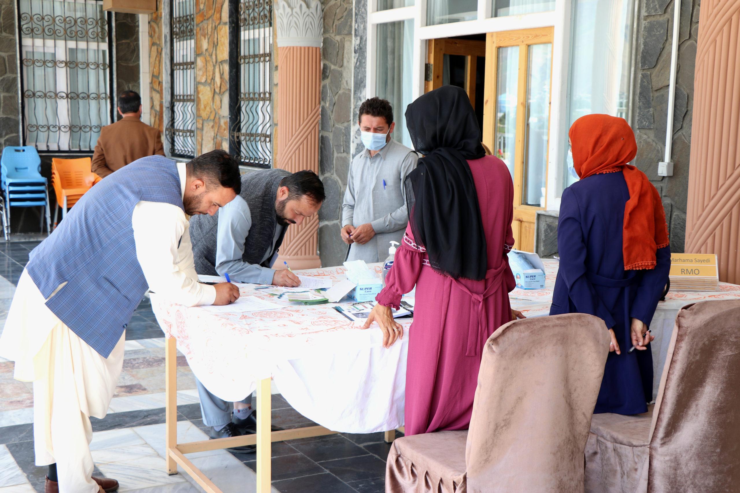Climate Change Training Workshop in Badakshan Afghanistan