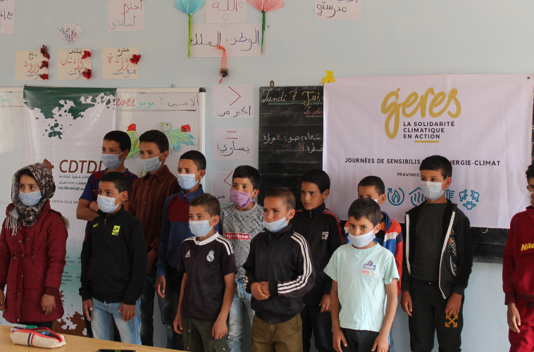 Sensibilisation efficacité énergétique école midelt maroc