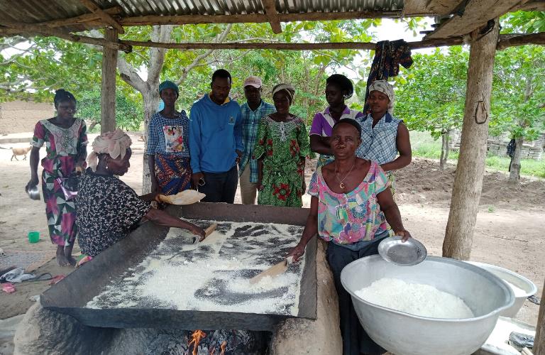 Femmes transformatrices de produits agroalimentaires territoire des collines bénin