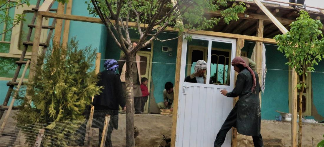 Témoignage d'Ahmad Khan, bénéficiaire d'une véranda bioclimatique à Fayzabad en Afghanistan