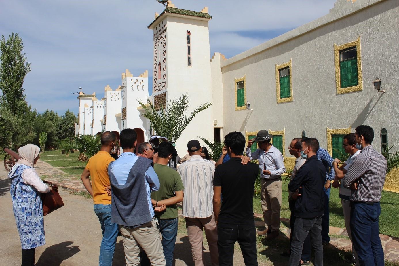 Sensibilisation énergie climat midelt maroc