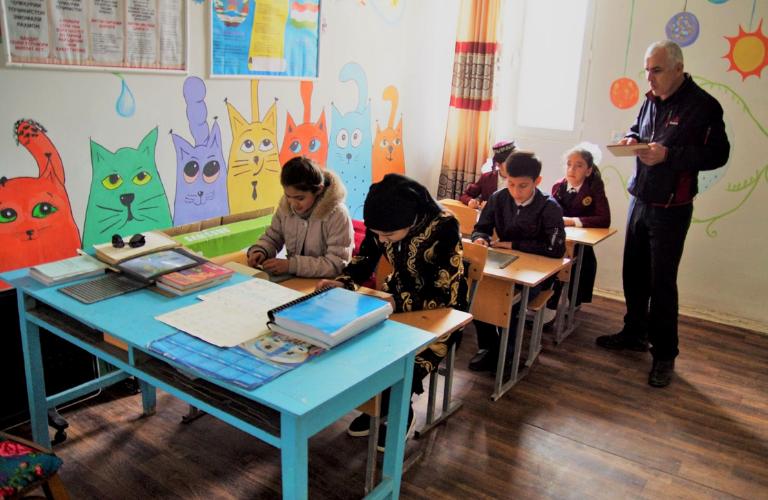 projet tadjikistan jeunesse